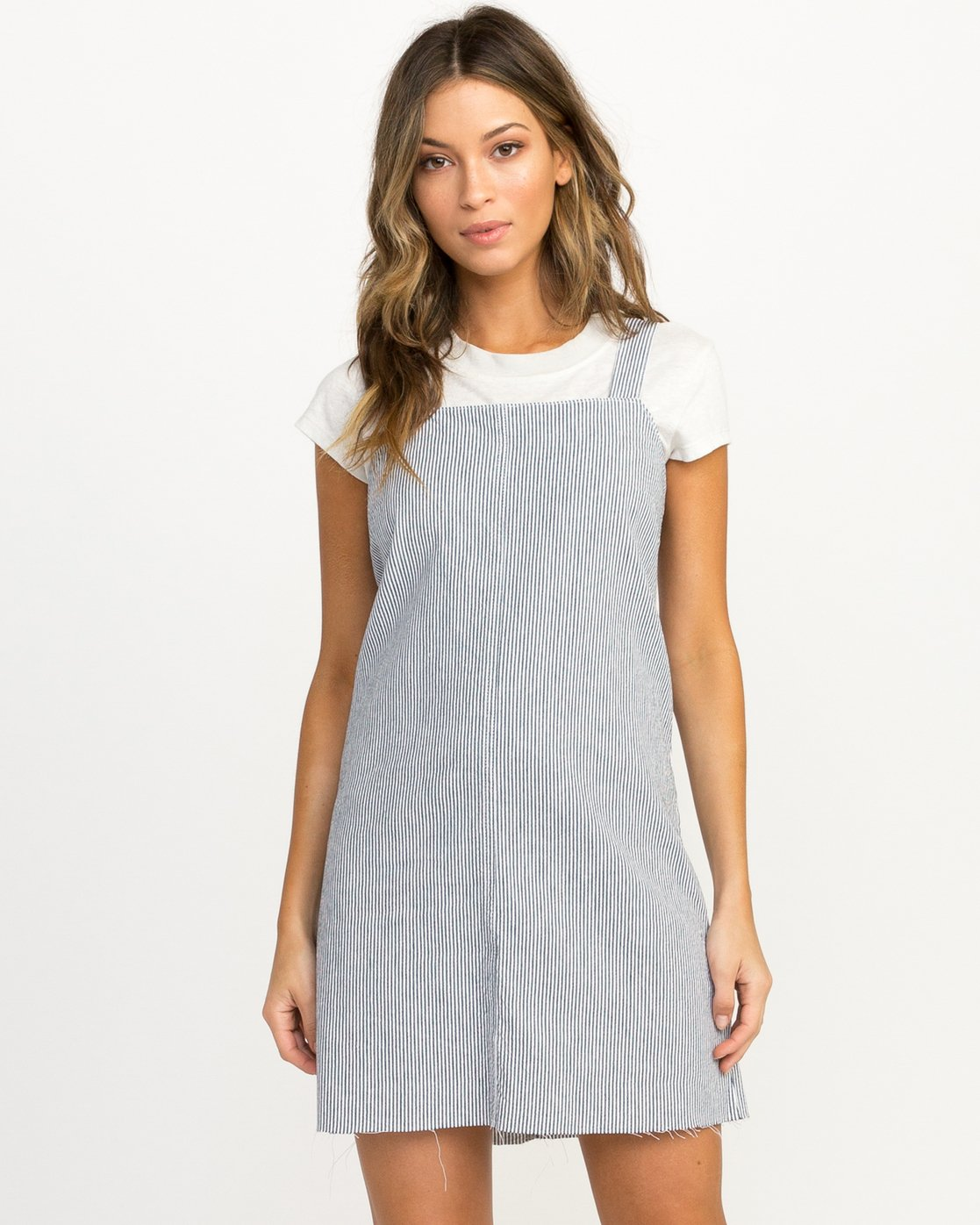 0 Tide Shift Striped Dress Silver WD18QRTI RVCA