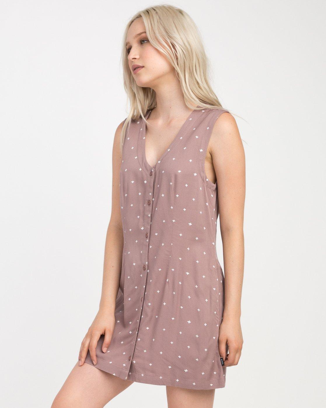 1 Fairness Printed Dress  WD19NRFA RVCA