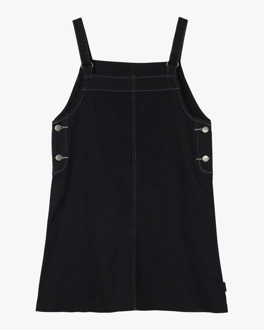 5 Neo Pinny Denim Overall Dress Black WD20QRNE RVCA