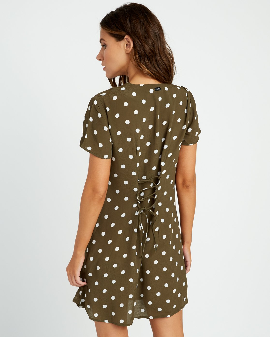 3 Benji Button-Up Dress Green WD90TRBD RVCA