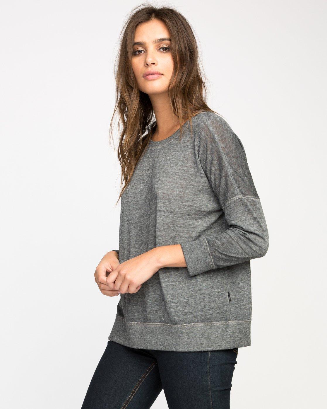 1 High RVCA Fleece Pullover  WF36M00H RVCA