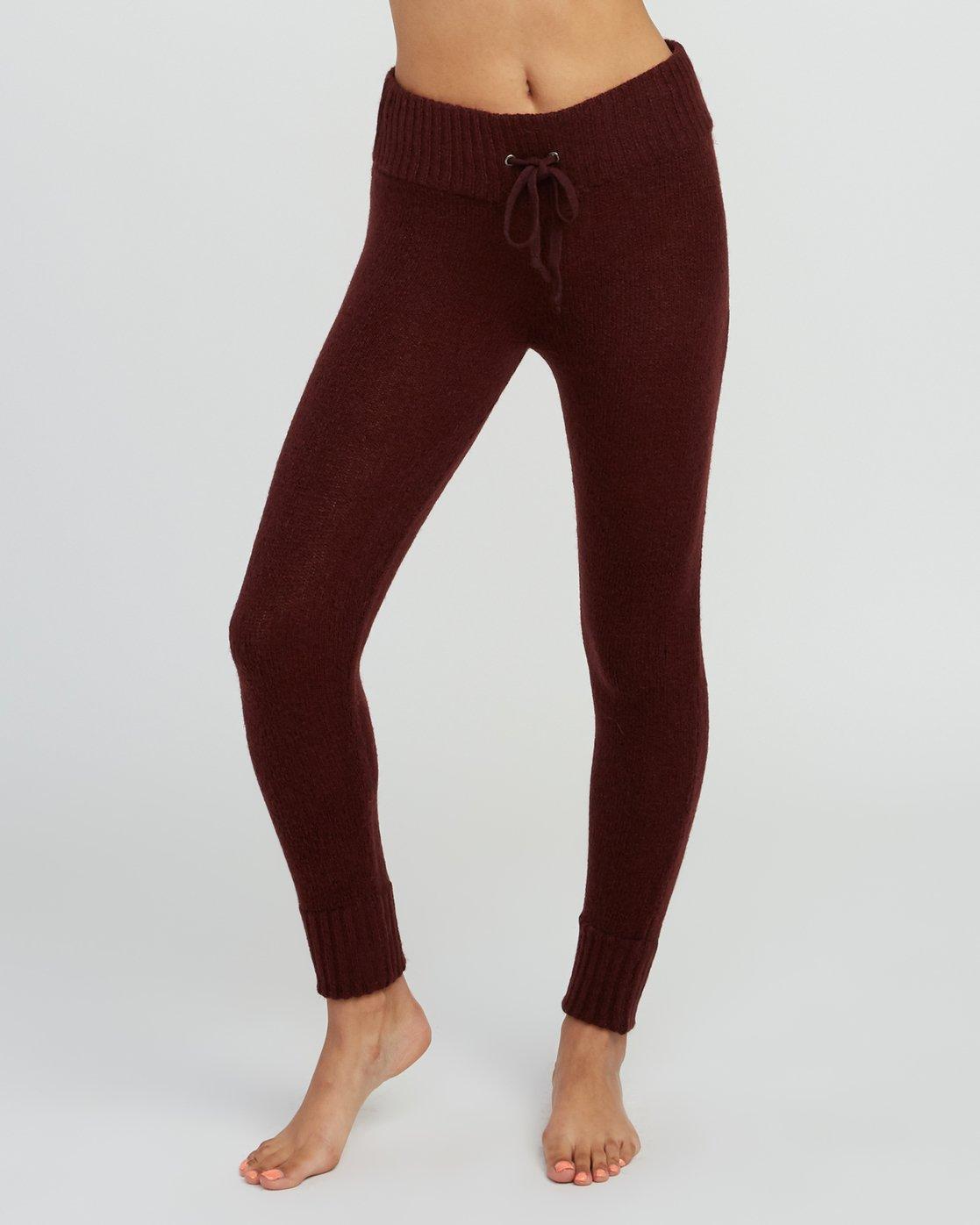 1 Creepin Sweater Knit Leggings Pink WL07SRCR RVCA