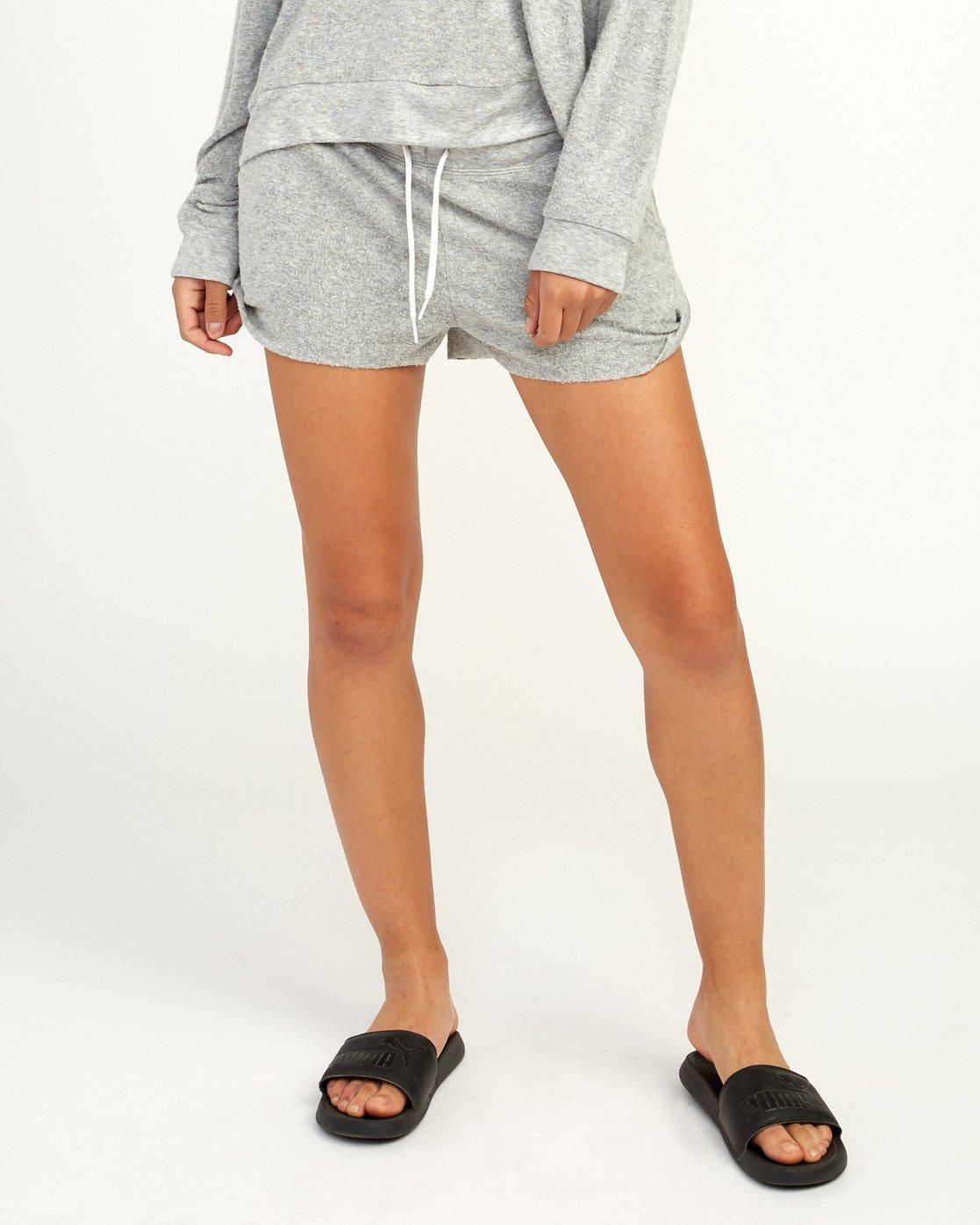 0 Whisper Fleece Soft Short Grey WL10TRWS RVCA