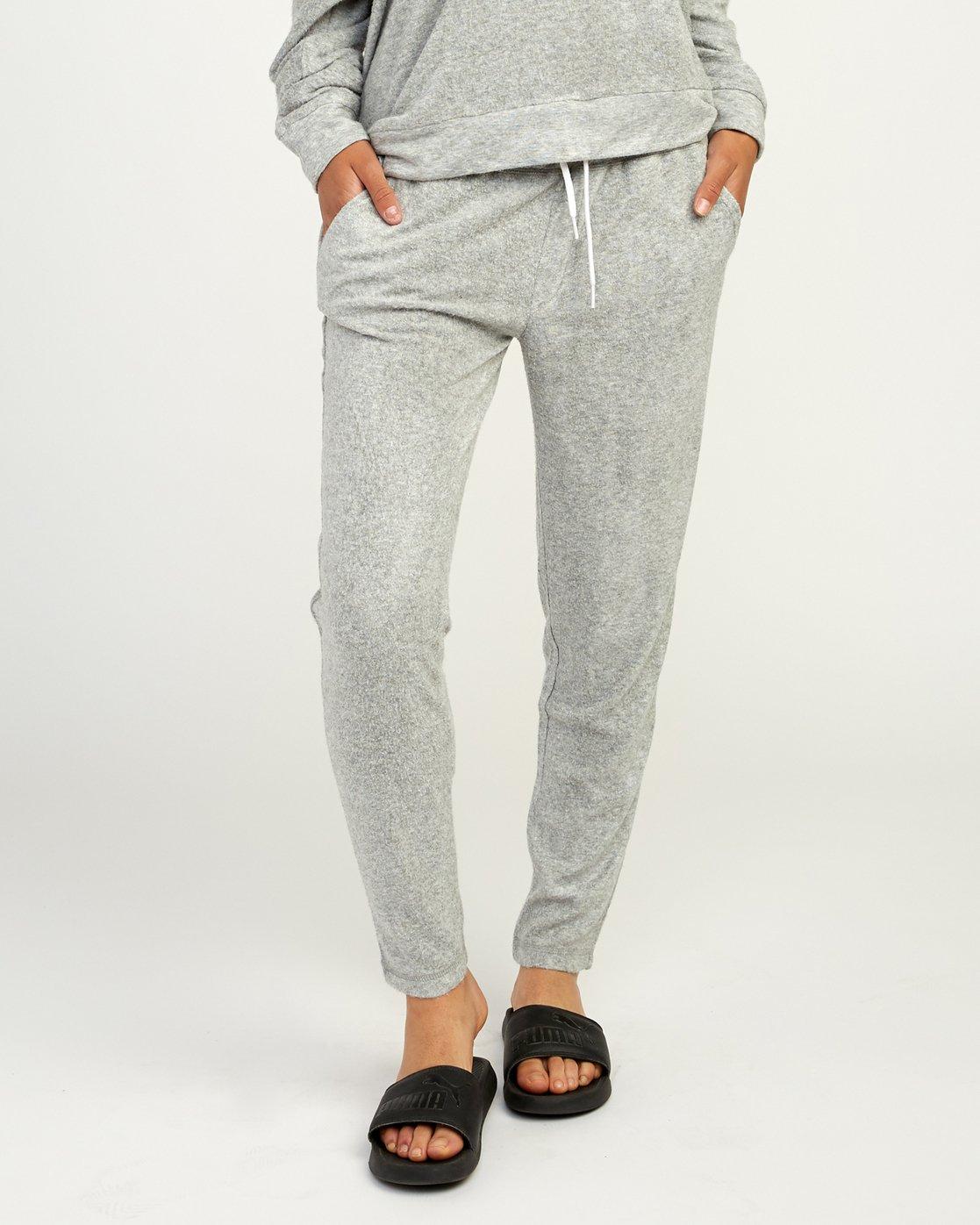 0 Whisper Fleece Pant Grey WL11TRWP RVCA