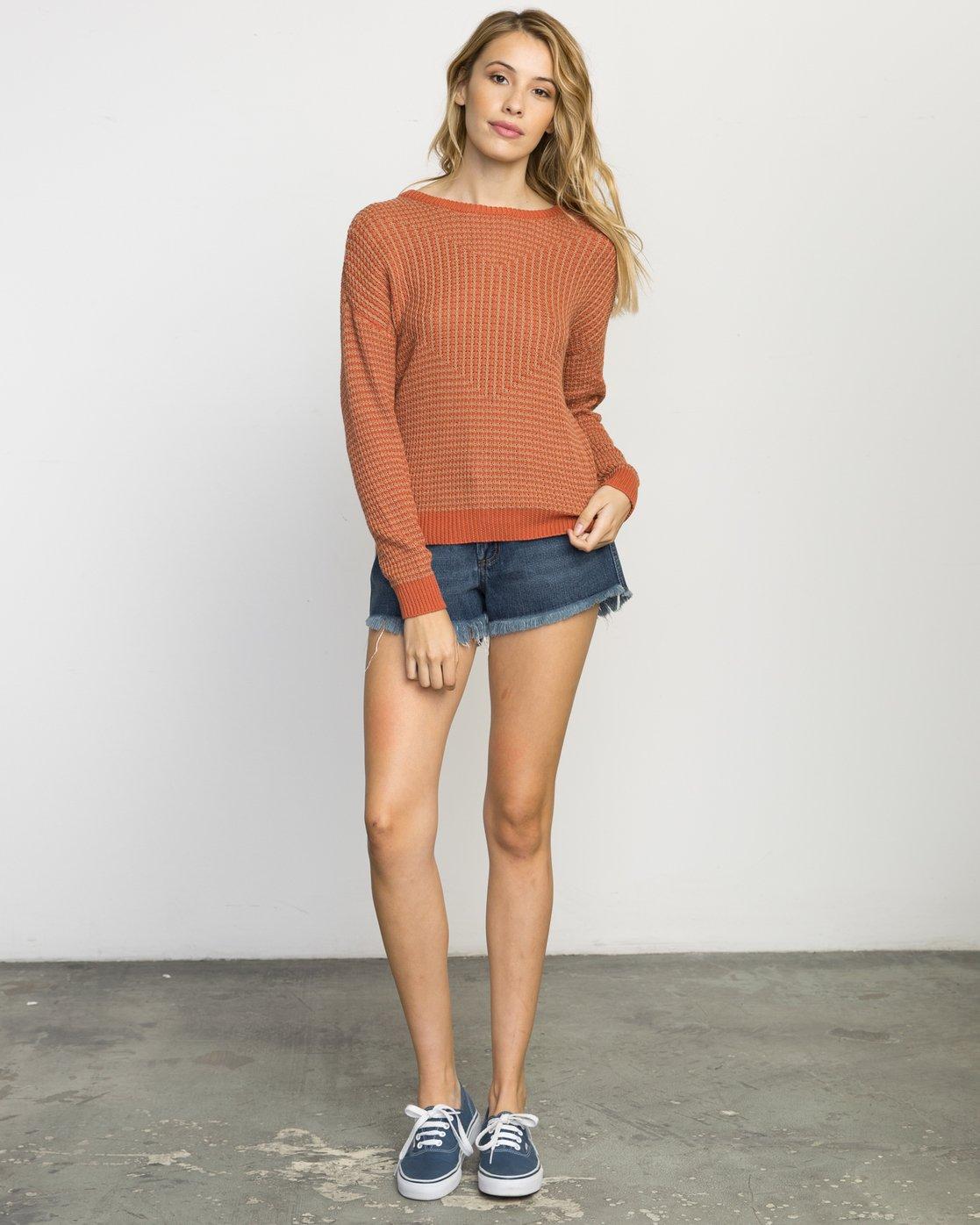 5 Light Up Knit Sweater  WLVV02LI RVCA
