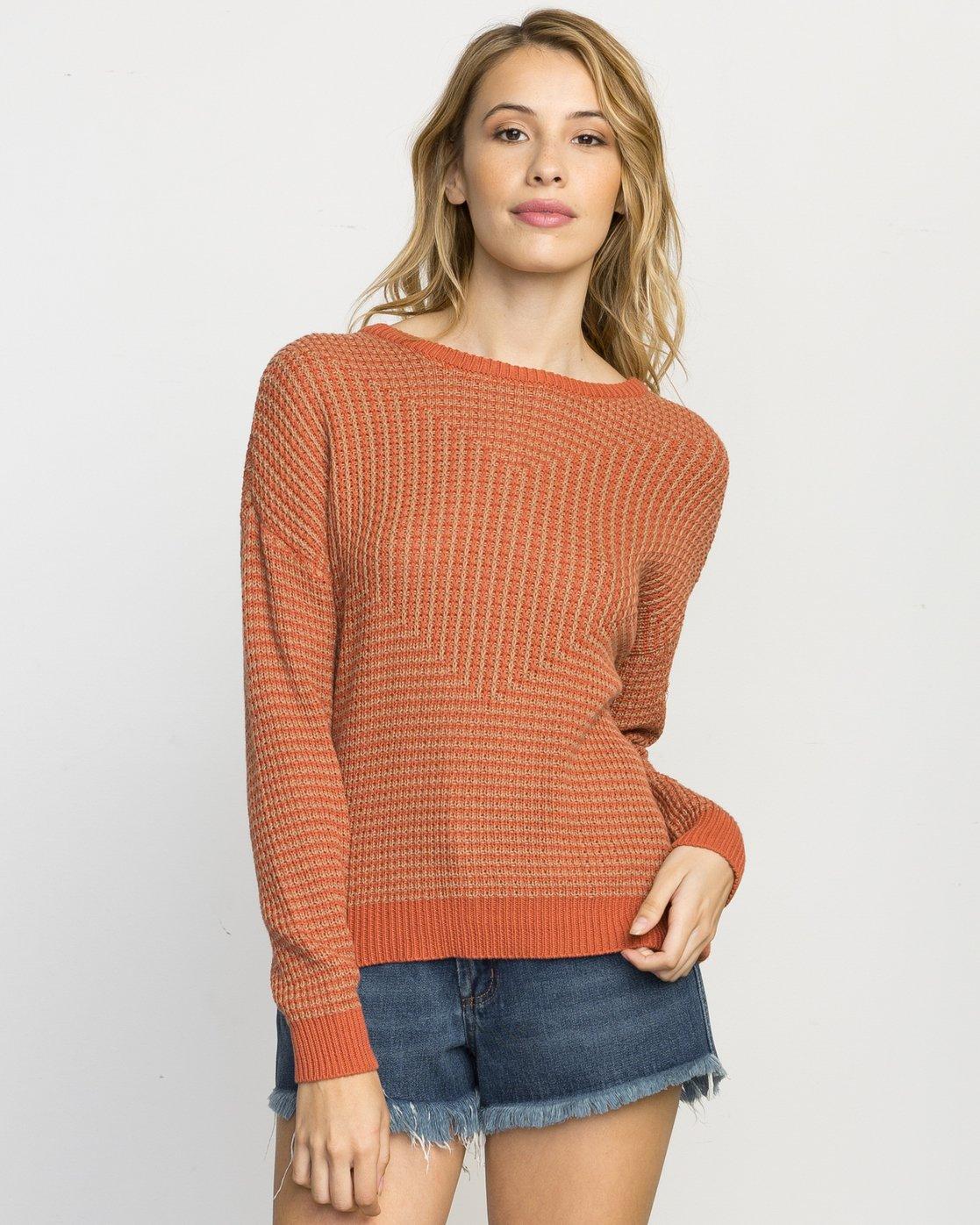 0 Light Up Knit Sweater  WLVV02LI RVCA