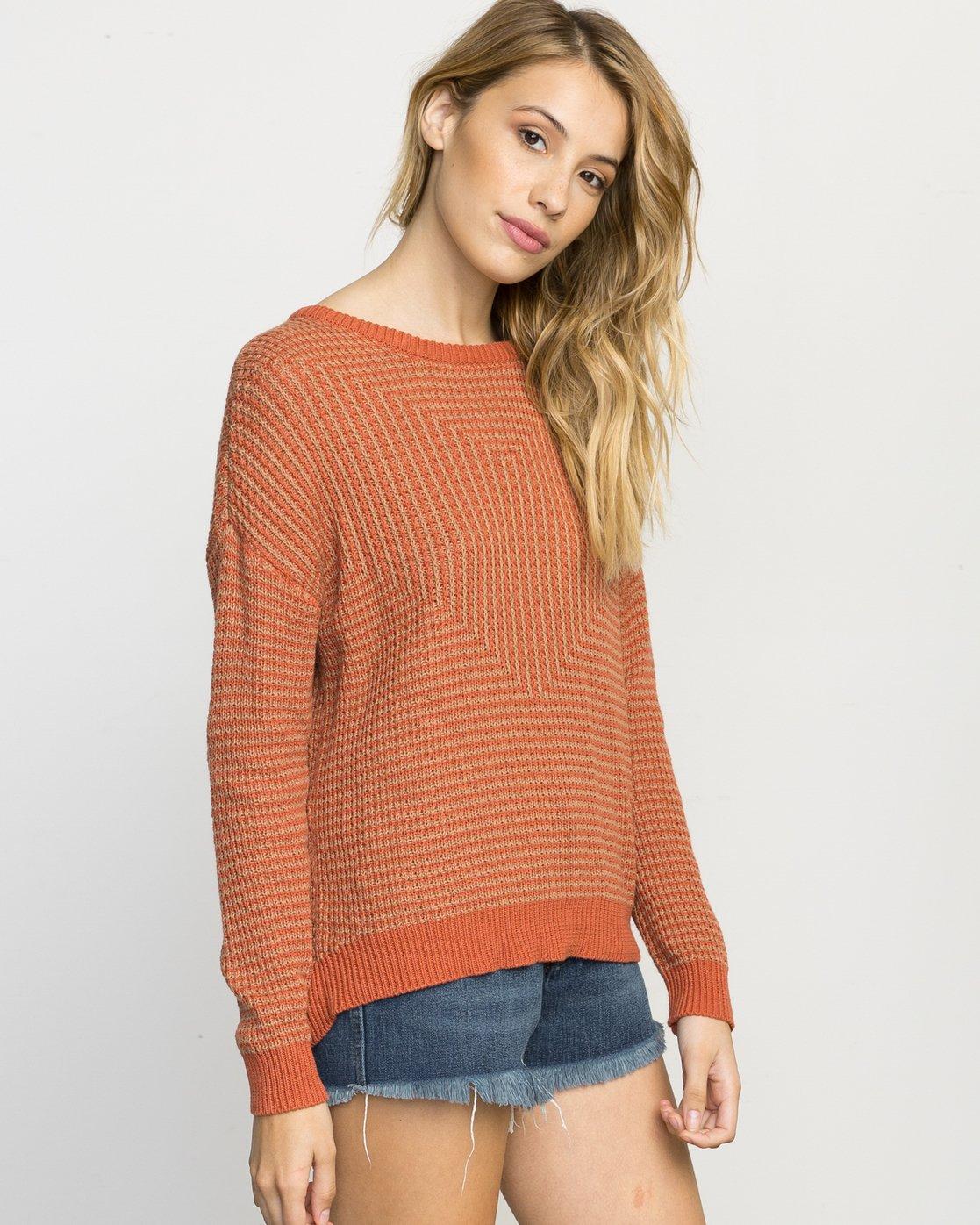 1 Light Up Knit Sweater  WLVV02LI RVCA