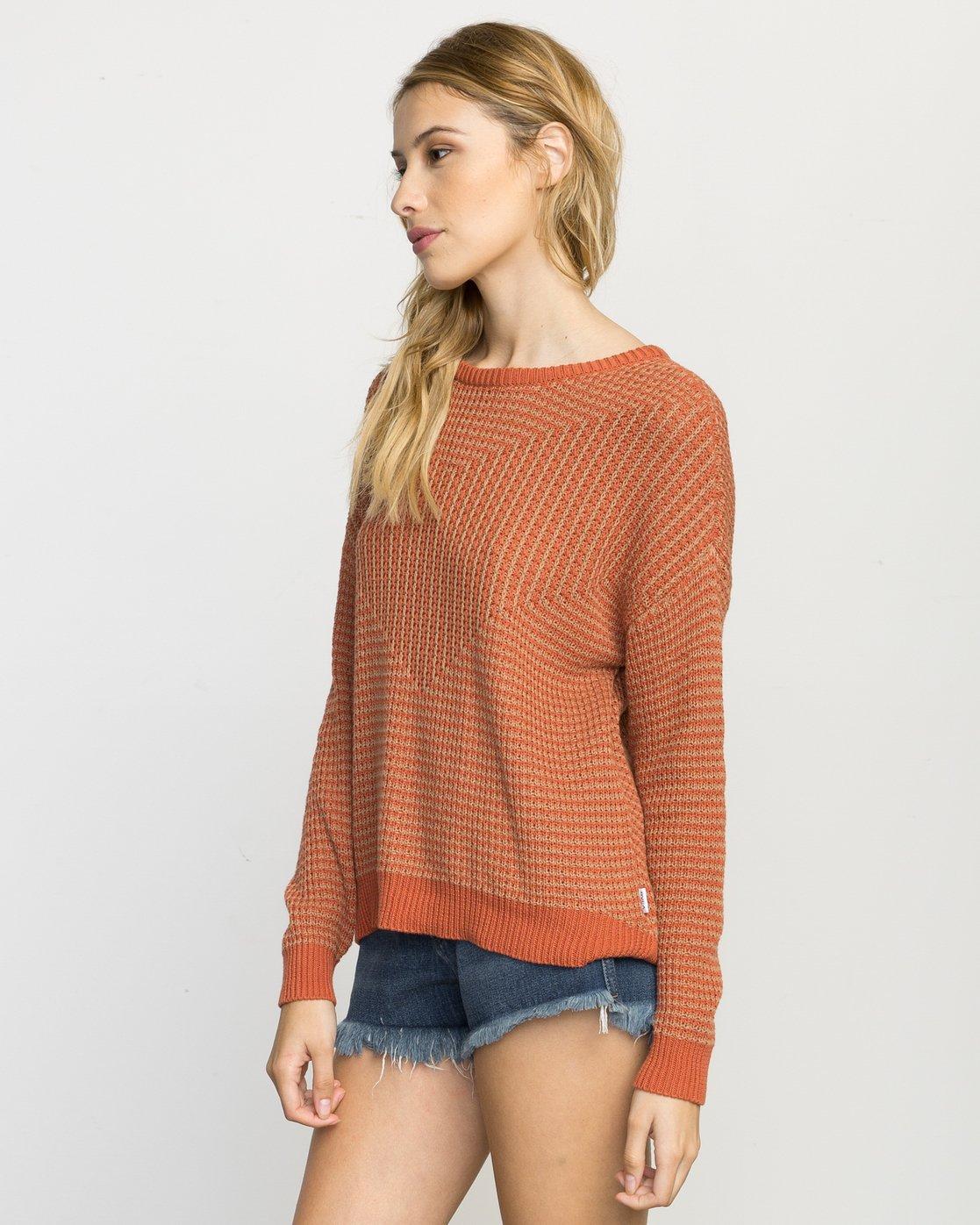 2 Light Up Knit Sweater  WLVV02LI RVCA