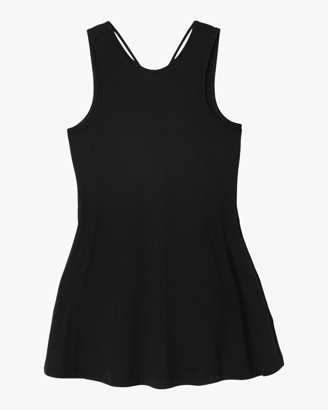 4 Temped Knit Swing Dress Black WMD01TEM RVCA