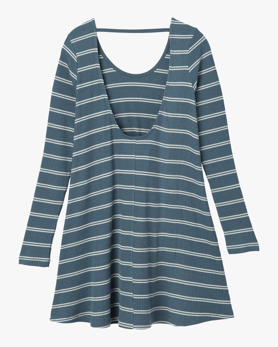 5 Time Table Striped Swing Dress  WMD03TIM RVCA