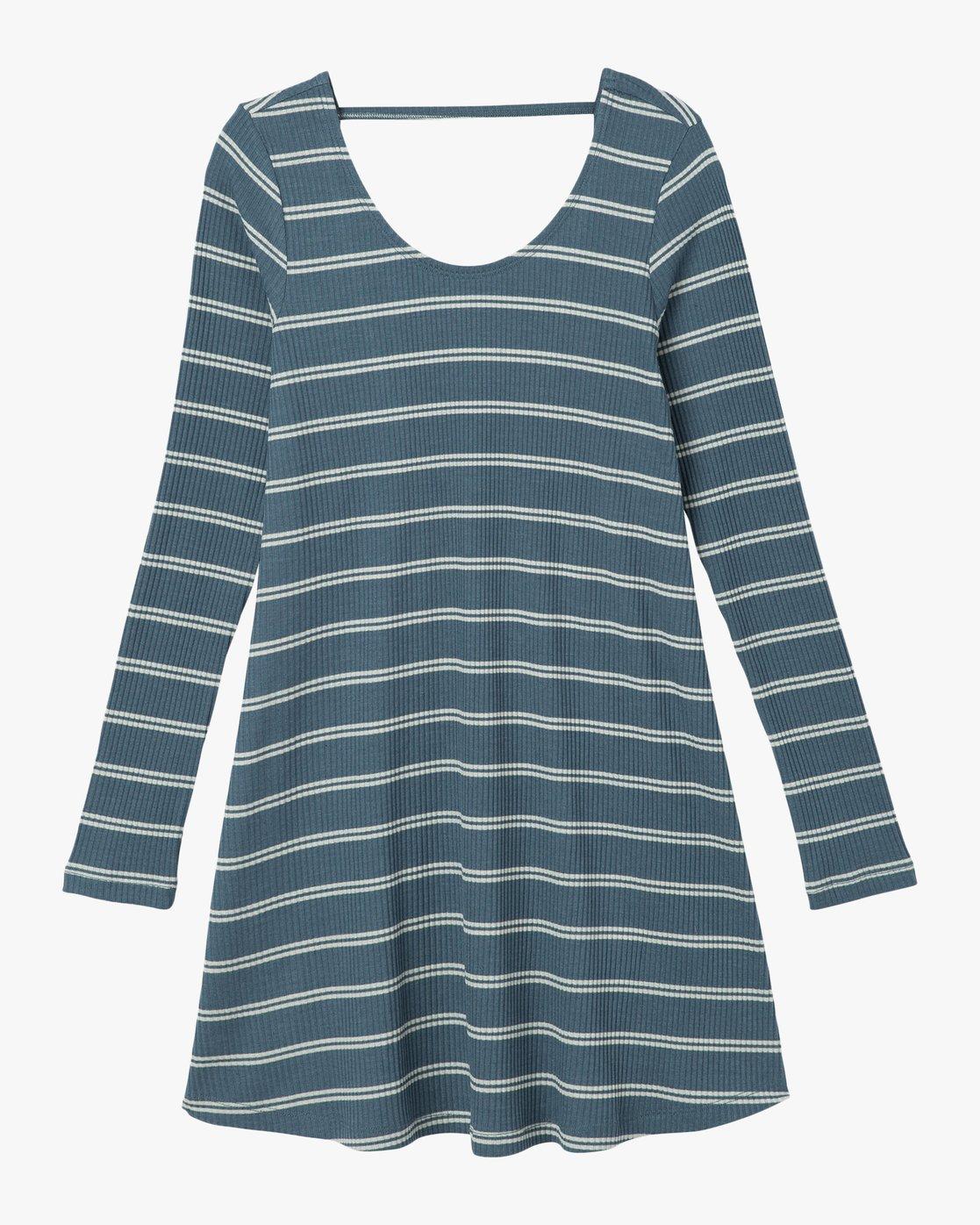 4 Time Table Striped Swing Dress  WMD03TIM RVCA