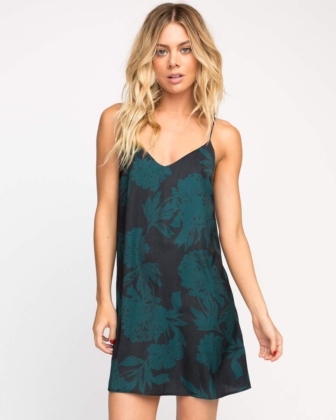 0 Envy Floral Slip Dress  WMD12ENV RVCA
