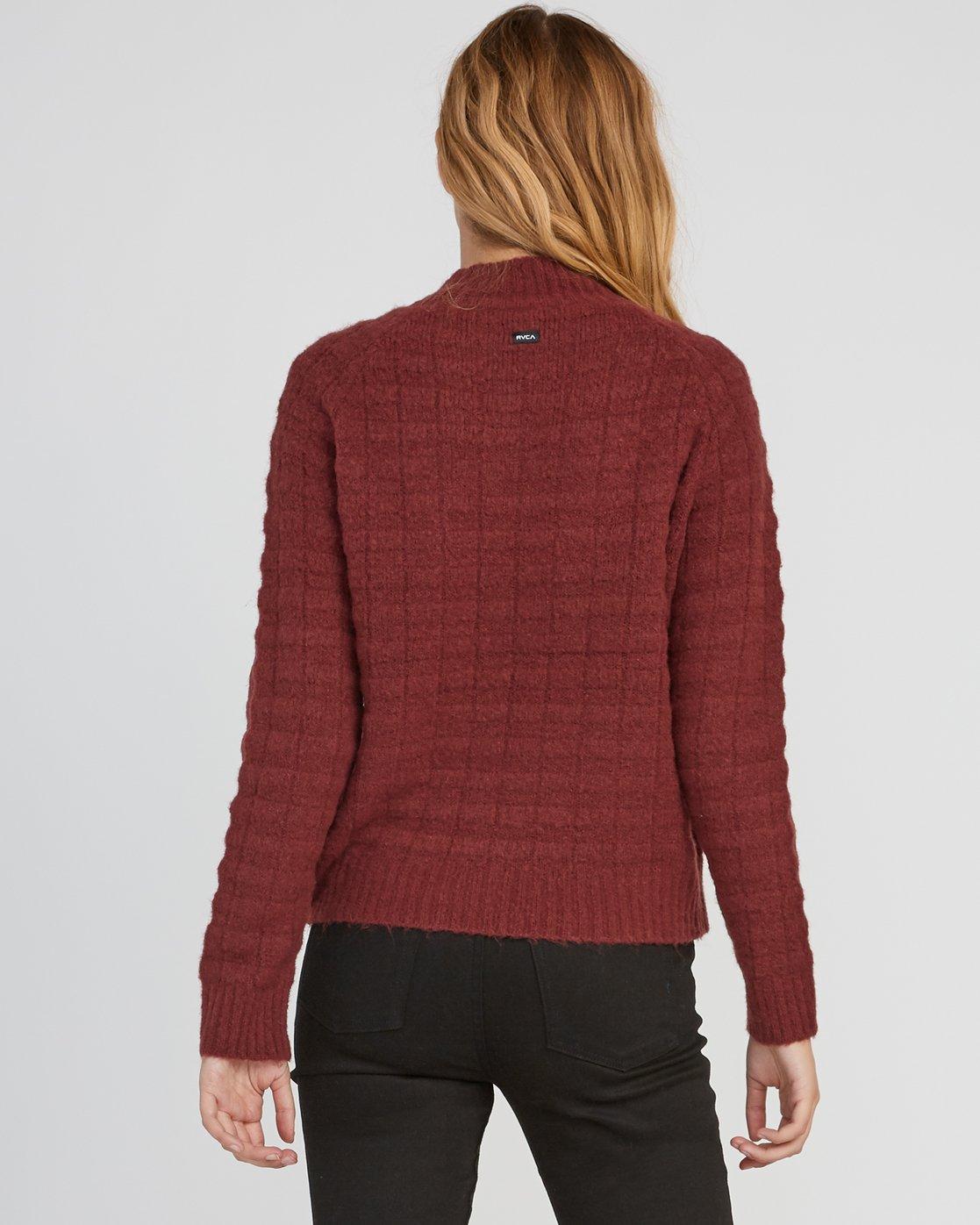 2 Mystars Knit Sweater Pink WV08SRMY RVCA