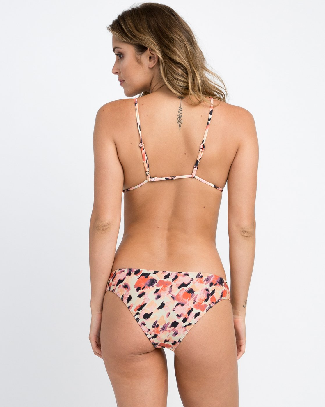 0 Water Color Leo Reversible Medium Bikini Bottom Multicolor XB08PRLM RVCA