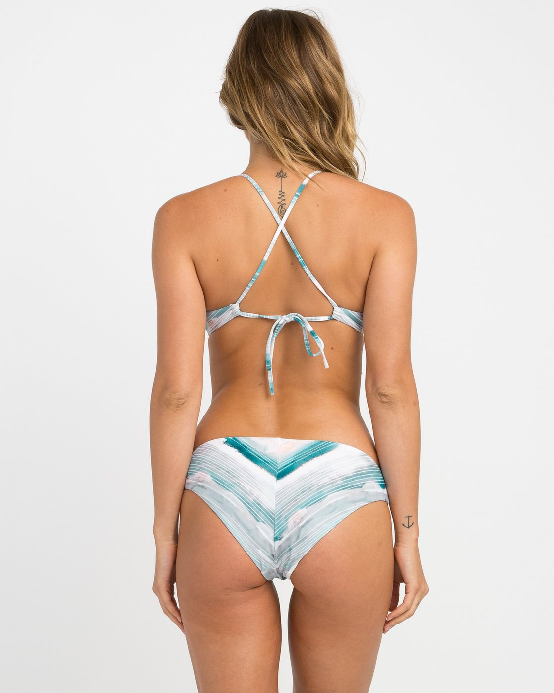 0 Washed Lines Full Bikini Bottoms  XB10NRWF RVCA