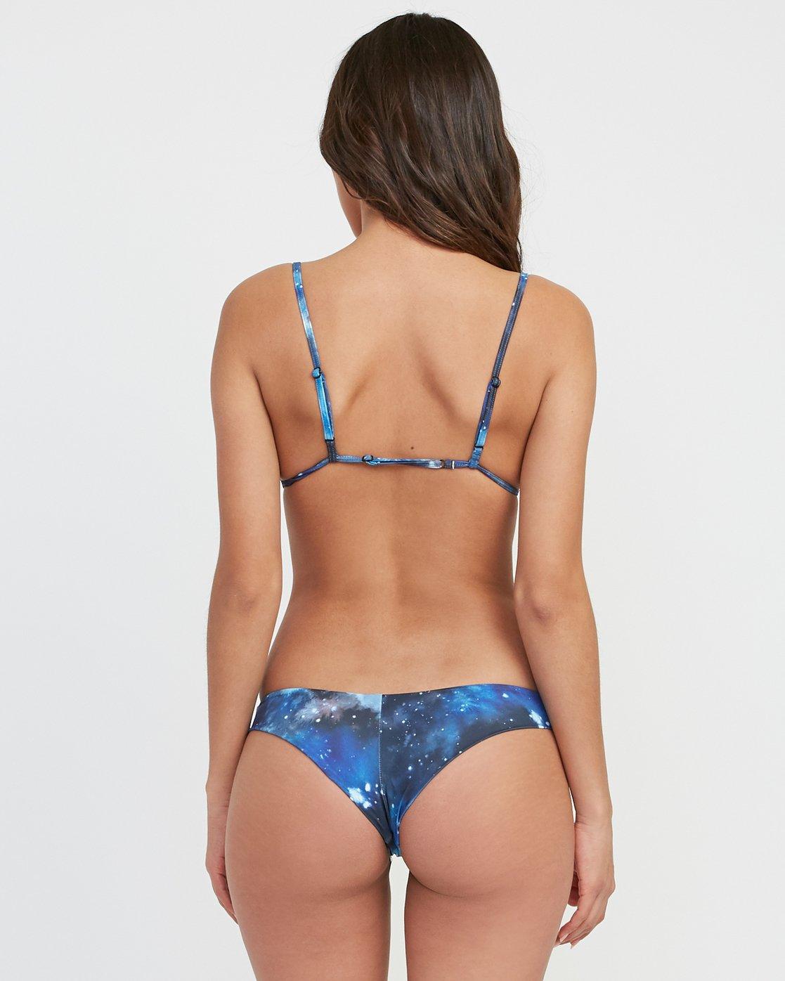 0 Michelle Blade Celestial Cheeky Bikini Bottom Multicolor XB12SRCC RVCA
