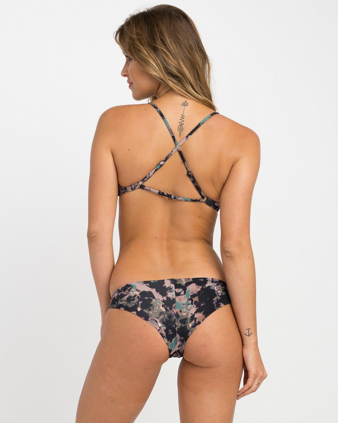 0 Camo Floral Cheeky Bikini Bottoms  XB13NRCC RVCA