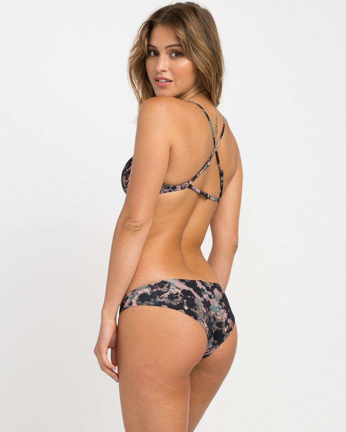 1 Camo Floral Cheeky Bikini Bottoms  XB13NRCC RVCA