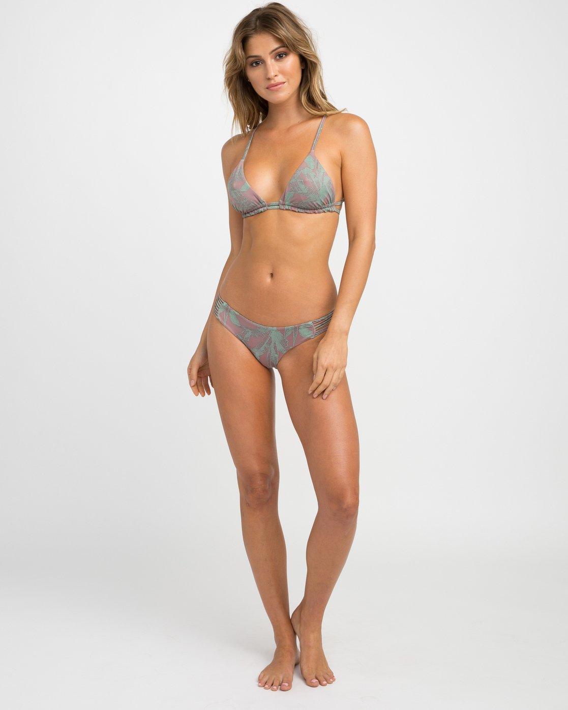 5 Palmer Reversible Triangle Bikini Top  XT06NRPT RVCA