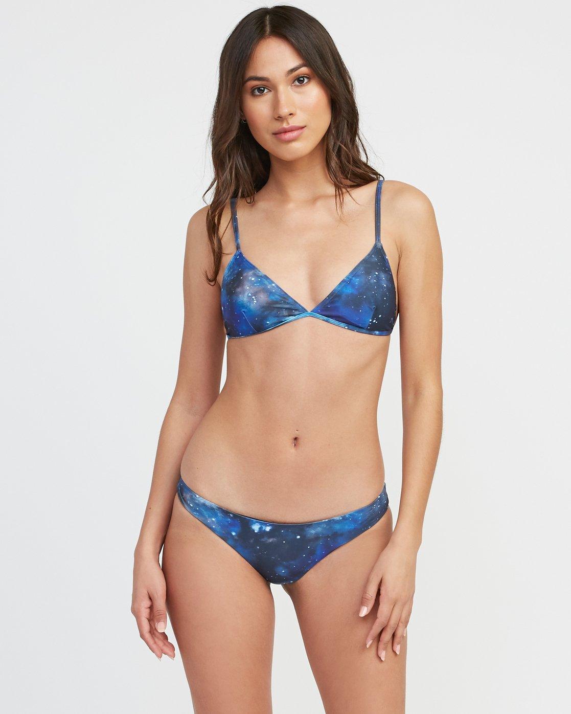 0 Michelle Blade Celestial Triangle Bikini Top Multicolor XT13SRCT RVCA
