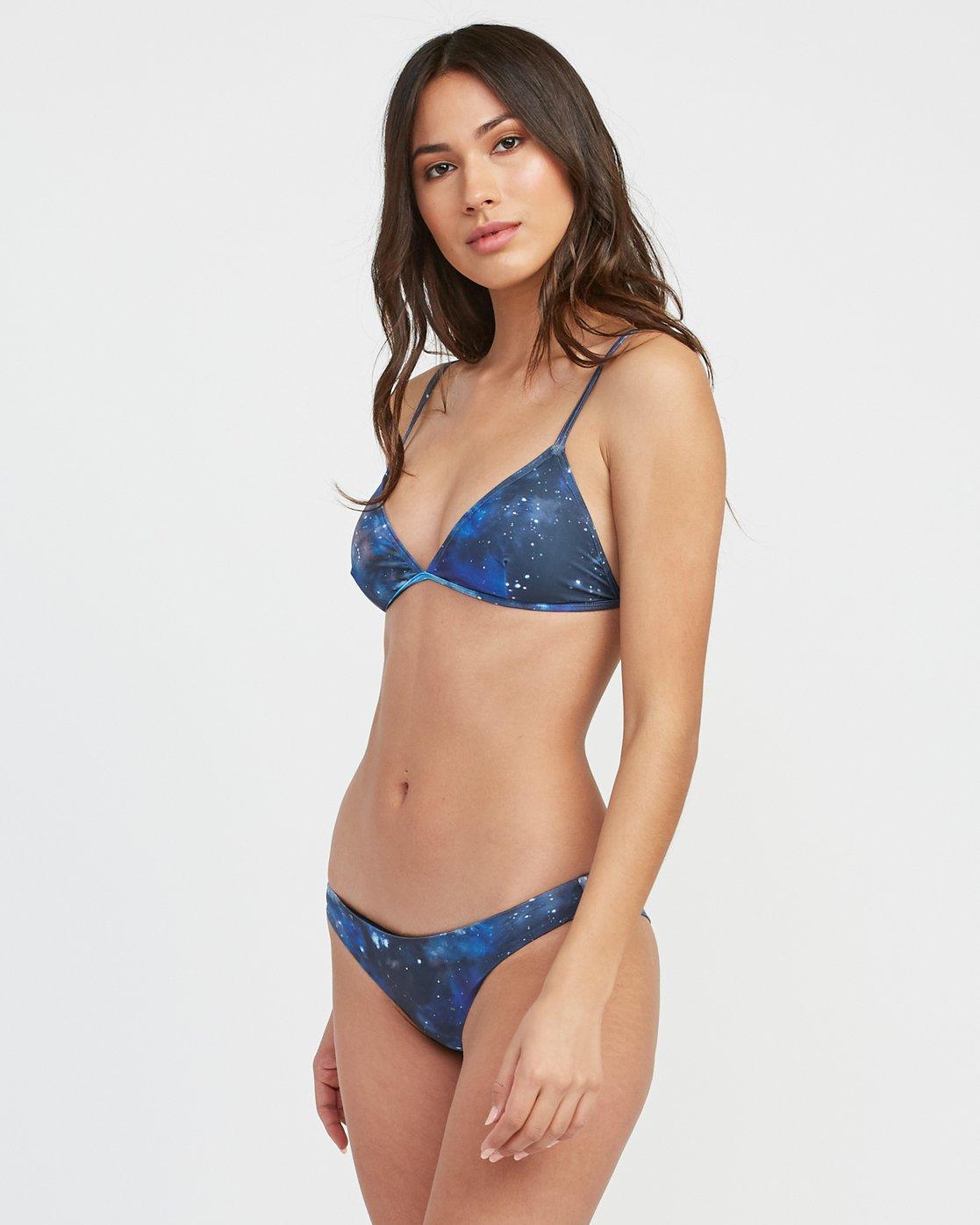 1 Michelle Blade Celestial Triangle Bikini Top Multicolor XT13SRCT RVCA