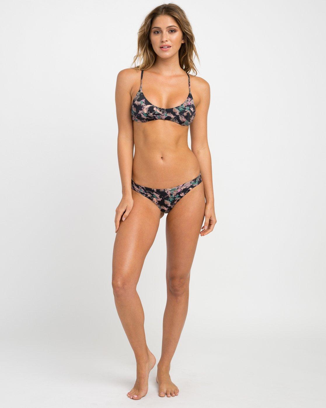 4 Camo Floral Crossback Bikini Top  XT15NRCC RVCA