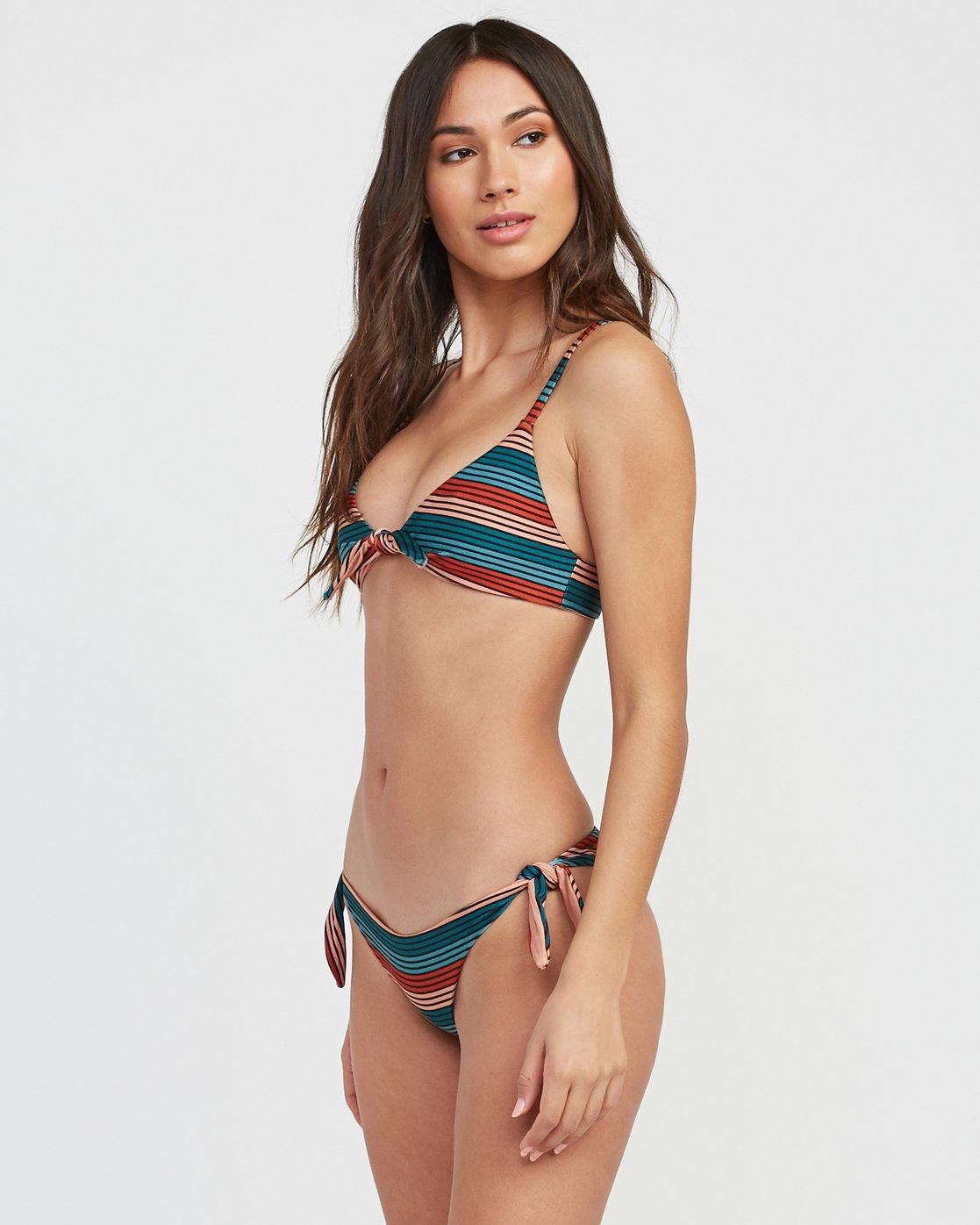 1 Frame Striped Knot Bikini Top Multicolor XT15SRFK RVCA