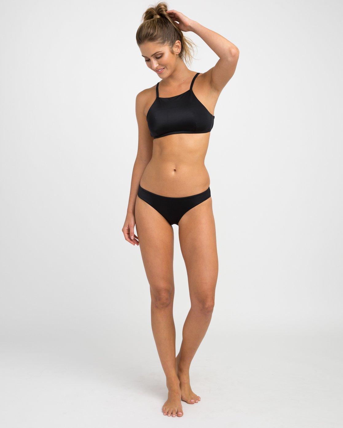 4 Solid Bikini Crop Top  XT19NRSC RVCA