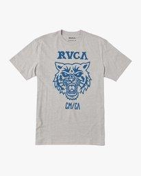 0 Boy's Dmote Mascot T-Shirt Grey B401TRMA RVCA