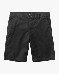 0 Boy's Weekday Stretch Shorts Black BC201WST RVCA