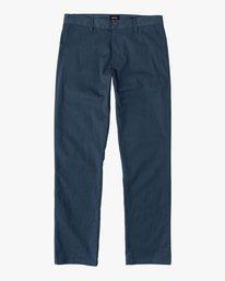 0 Boy's Weekday Stretch Pants Blue BC301WDS RVCA