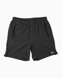 "0 Boy's Yogger 3 15"" Short Black BL204YGR RVCA"