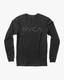 96a987031 BIG RVCA LS M451TRBI · Big RVCA Long Sleeve T‑Shirt