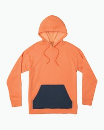 0 Adrian Neutral Hoodie Orange M630QRAH RVCA