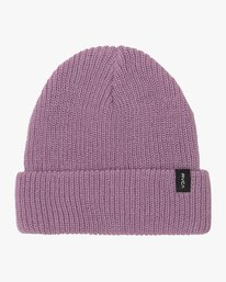 0 Dayshift Knit Beanie Purple MABNQRDS RVCA