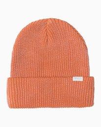 0 Neutral Knit Beanie Orange MABNQRNB RVCA