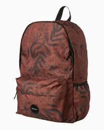 0 Multiplied Printed Backpack Brown WABKPRMU RVCA