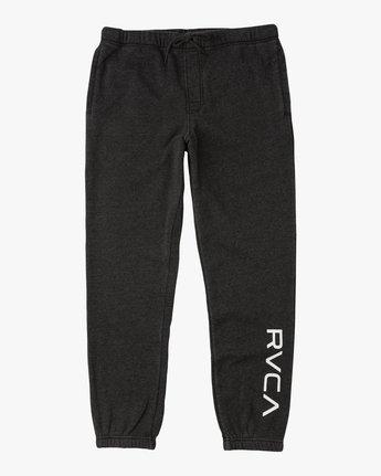 5 Boy's VA Guard Fleece Sweatpant Black B301QRGU RVCA