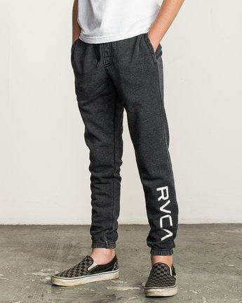 1 Boy's VA Guard Fleece Sweatpant Black B301QRGU RVCA