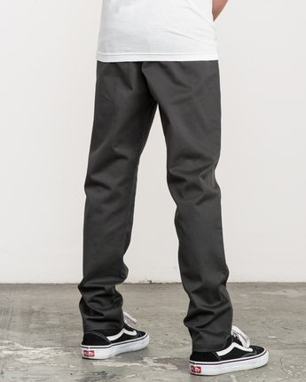 4 Boy's A.T. Dayshift Elastic Pant Black B310QRDS RVCA