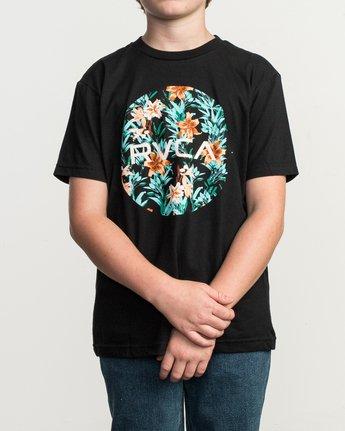 1 Boy's Motors Fill T-Shirt Black B401TRMO RVCA