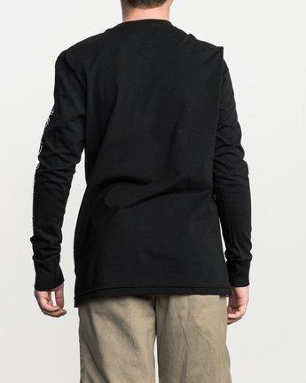 4 Boy's Reflector Long Sleeve T-Shirt  B451SRRE RVCA