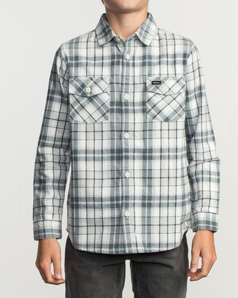 1 Boy's Watt Flannel Shirt Multicolor B553TRWF RVCA