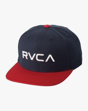 RVCA TWILL SNAPBACK  BAAHWRTS