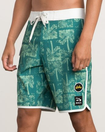 "7 Oblow Palms 20"" Trunk Green M101QROP RVCA"