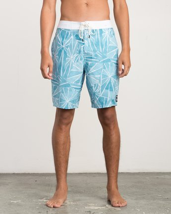 "1 Blade Printed 20"" Boardshort Blue M105QRBL RVCA"