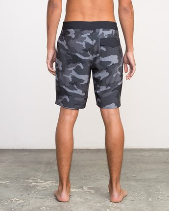 "4 Islands VA 19"" Boardshort Black M124NRIV RVCA"