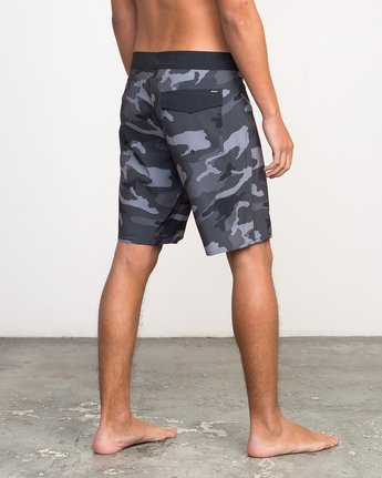 "5 Islands VA 19"" Boardshort Black M124NRIV RVCA"