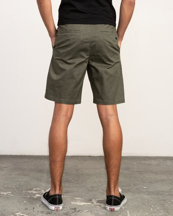4 All Time Session Short Green M201TRSE RVCA