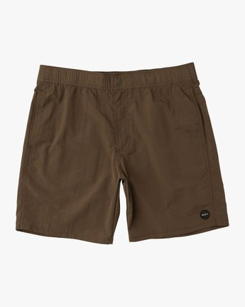 0 Nomatic All Time Hybrid Short Brown M203QRNO RVCA